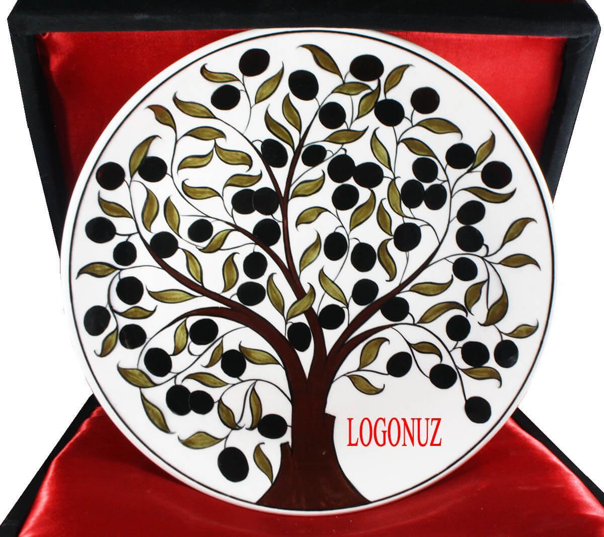 Kurumunuza Özel Logolu Tabak