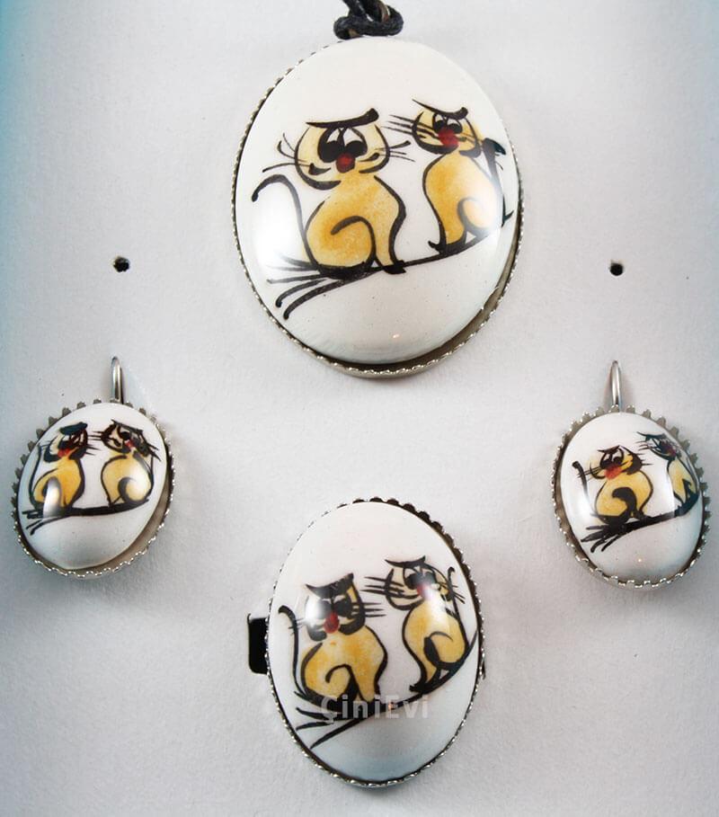 Şirin Kediler Takı Seti