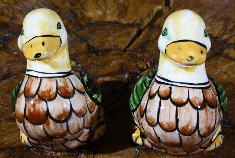Şirin Ördekler Çini Biblo